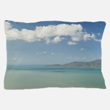 Townsville. Castle Hill - View of Clev Pillow Case