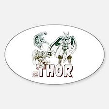 Marvel Comics Thor 3 Decal
