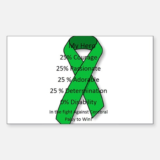 My Cerebral Palsy Hero Decal