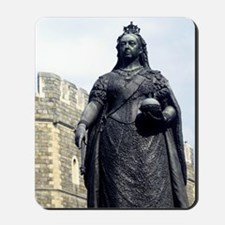 Queen Victoria. Statue at Windsor. 19th  Mousepad