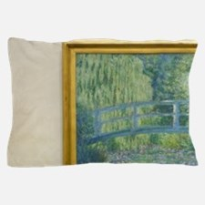 Water-Lily Pond Pillow Case