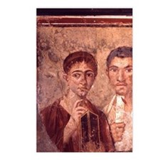 Fresco from Pompeii. Port Postcards (Package of 8)