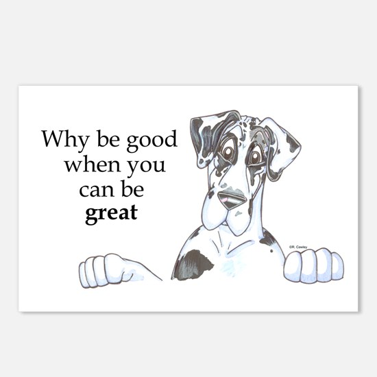 NH Why be good Postcards (Package of 8)