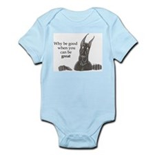 CBlk Why be Infant Bodysuit