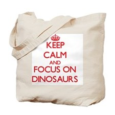 Cute Dinosaur love Tote Bag