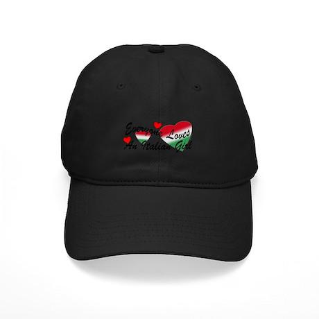 Loves an Italian Girl Black Cap