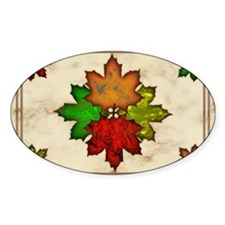 Fall Leaves Decal