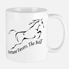 Fortune Favours the Bold Mugs