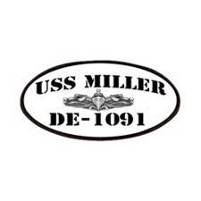 USS MILLER Patches