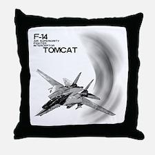 F-14 Tomcat Throw Pillow