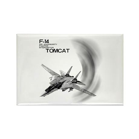 F-14 Tomcat Rectangle Magnet (100 pack)