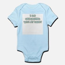 Geocaching Daddy Infant Bodysuit
