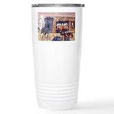 1511 Henry VIII jousts  Travel Mug