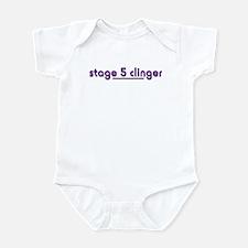 Stage 5 Clinger - White Produ Infant Bodysuit