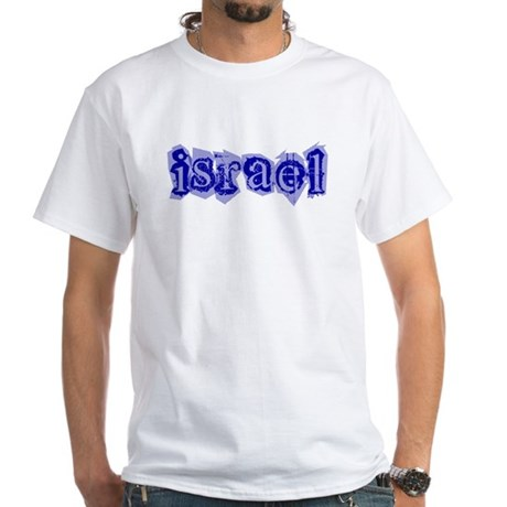 """""""Israel Blessing"""""""" White T-Shirt"""