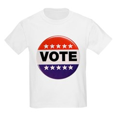 Get Out The Vote Button T-Shirt