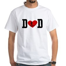 Surfer Dad Heart T-Shirt