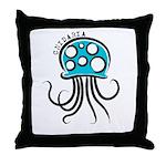 Cnidarian Throw Pillow