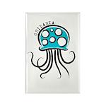 Cnidarian Rectangle Magnet (100 pack)
