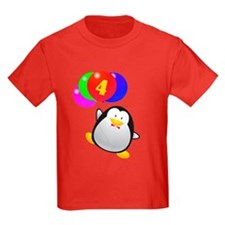 Penguin 4th Birthday T