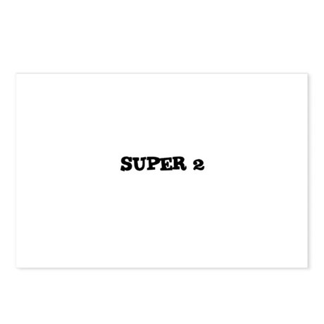 Super 2 Postcards (Package of 8)
