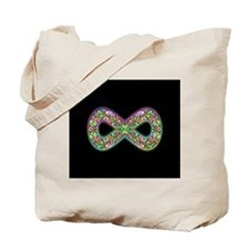 Infinity Psychedelic Symbol Tote Bag