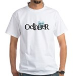 due in october blue T-Shirt