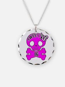 Sweet 16 Skull Necklace