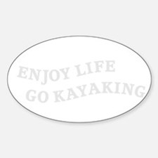 Cute Living life to the fullest Sticker (Oval)