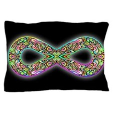 Infinity Psychedelic Symbol Pillow Case