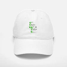 Mrs and Mrs Baseball Baseball Cap