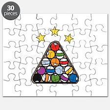Pool Tirangle Puzzle