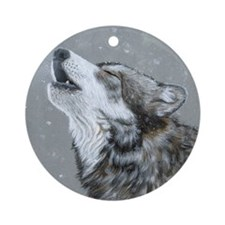 Snow Song:  Ornament (Round)