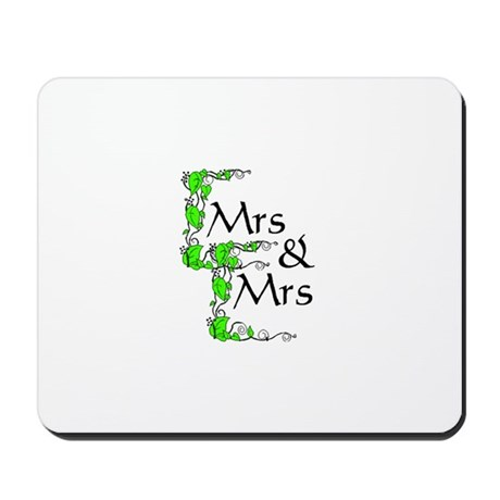 Mrs and Mrs Mousepad
