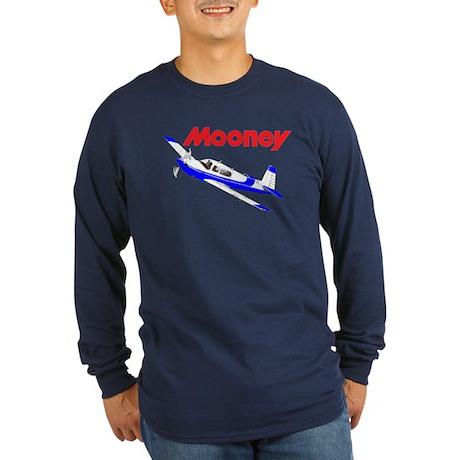 MOONEY Long Sleeve Dark T-Shirt