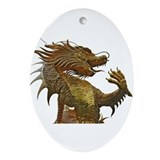 Dragon boating ornaments Oval Ornaments