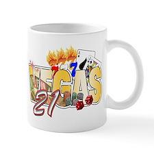 Vegas 21st Birthday Small Mug