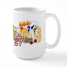 Vegas 21st Birthday Mug