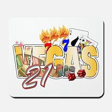 Vegas 21st Birthday Mousepad