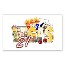 Vegas 21st Birthday Decal