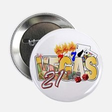 "Vegas 21st Birthday 2.25"" Button"