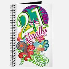 Finally 21 Birthday Journal