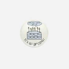50th birthday 50 candles Mini Button (10 pack)