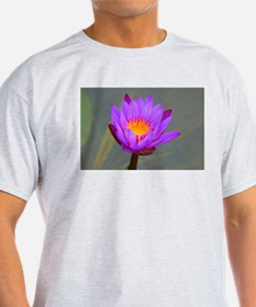 Purple Lotus Flower T-Shirt