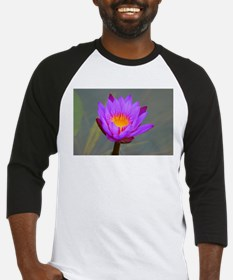 Purple Lotus Flower Baseball Jersey