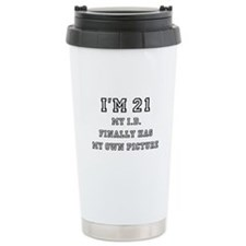21st Birthday Travel Mug