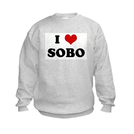 I Love SOBO Kids Sweatshirt