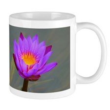Purple Lotus Flower Mugs