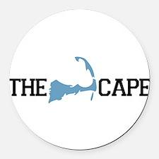 Cute Cape cod Round Car Magnet