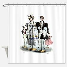 Cute French fashion Shower Curtain